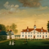 Edward Savage, West Front of Mount Vernon, c. 1796