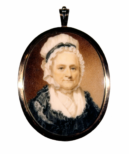 Miniature Portrait, <em>Martha Washington</em>, 1801