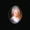 Miniature Portrait, Martha Washington