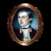 Miniature portrait, John Parke Custis, by Charles Willson Peale (watercolor on ivory, 1772)