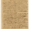 Letter, Martha Washington to Anna Maria Dandridge Bassett, August 28, 1762