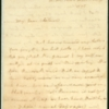 Letter, Martha Washington to John Parke and Eleanor Custis, March 19, 1779