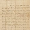 Letter, Martha Washington to Mercy Otis Warren, December 26, 1789