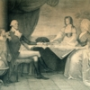 Edward Savage, The Washington Family, engraving after the original, c. 1789-1790