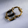 Brass shoe buckle