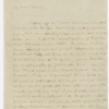 Letter, Martha Washington to Fanny Bassett Washington, October 23, 1789