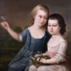 Portrait, The Custis Children, Matthew Pratt, c. 1773