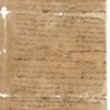 Letter, Martha Dandridge Custis to Robert Cary, January 1758