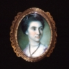 Miniature portrait, Martha Parke Custis, 1772, by Charles Willson Peale (watercolor on ivory, 1772)