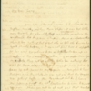 Letter, Martha Washington to Fanny Bassett Washington, August 29, 1791