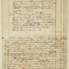 Expense Account, July 1, 1783