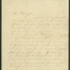 "Letter, ""A Society of Females"" to Martha Washington, February 14, 1800"