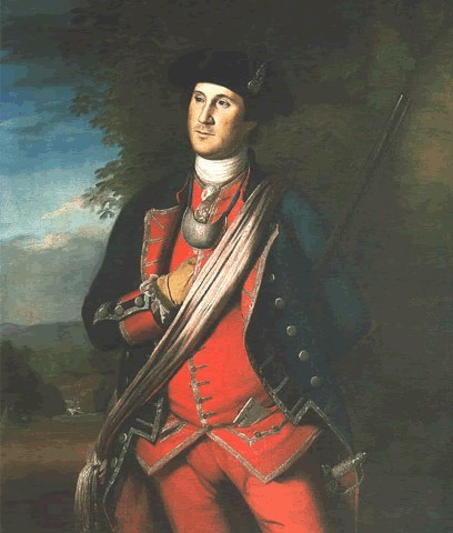 Charles Willson Peale, <em>George Washington in the Uniform of a British Colonial Colonel,</em> 1772
